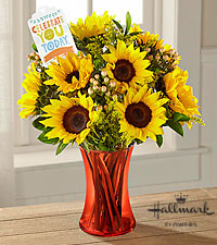 The FTD® Celebrate You Bouquet by Hallmark- VASE INCLUDED
