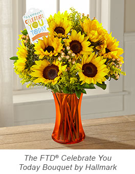 The FTD® Celebrate You Today Bouquet by Hallmark