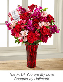 The FTD® You are My Love Bouquet by Hallmark