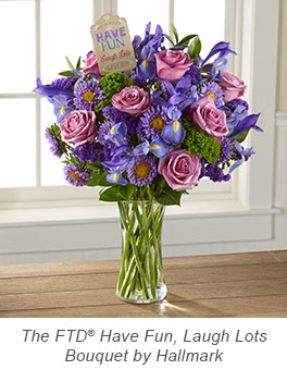 The FTD® Have Fun, Laugh Lots Bouquet by Hallmark