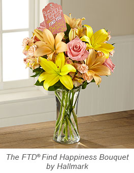 Find Happiness Bouquet by Hallmark