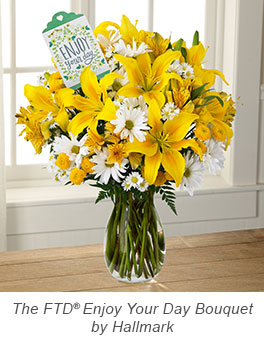 Enjoy Your Day Bouquet by Hallmark