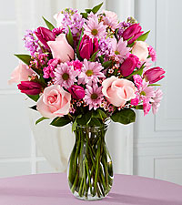 Sweet Delight Bouquet - VASE INCLUDED
