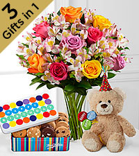 Best Birthday Ever Ultimate Gift Package - VASE INCLUDED