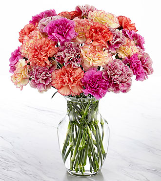 Perfectly Frilling Bouquet - VASE INCLUDED