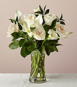 Endless Elegance Bouquet  with Vase