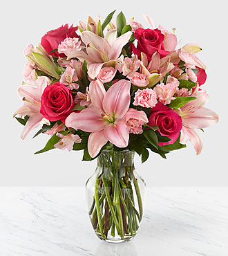 You Had Me at Pink Bouquet - VASE INCLUDED