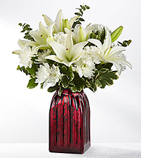 Starry Nights Holiday Bouquet- VASE INCLUDED