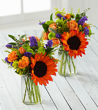 Happy Homecomings Petite Bouquet Duo - 2 Petite Jars Included