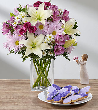 Lavender Fields Mixed Flower Bouquet Ultimate Gift