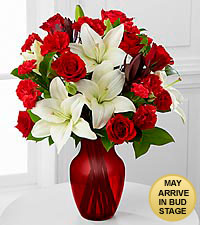 Hearts in Harmony Mixed Flower Bouquet - VASE INCLUDED