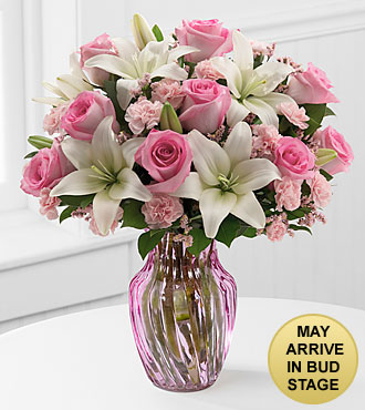 Sweet Emotions Mixed Flower Bouquet - VASE INCLUDED