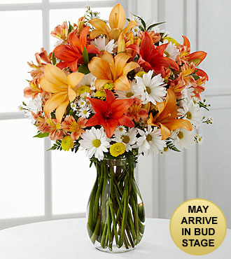 Sunrise Sentiments Bouquet - VASE INCLUDED