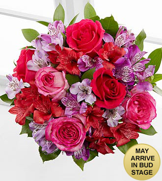 Romancing the Heart Bouquet - No Vase