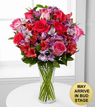Romancing the Heart Bouquet - VASE INCLUDED