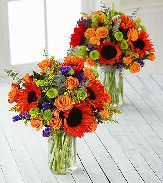 Happy Homecomings Grande Bouquet Duo - 2 Grande Jars Included