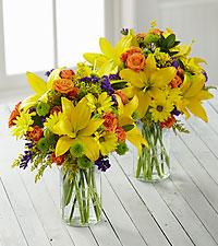 Brightest Days Grande Bouquet Duo - 2 Grande Jars Included