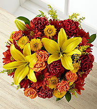 Thankful Harvest Fall Bouquet - NO VASE