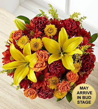 Thankful Harvest Fall Bouquet - NO VASE
