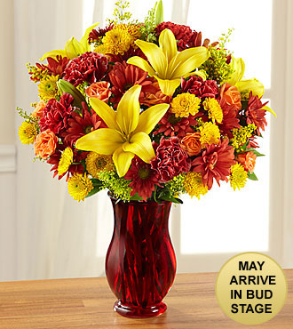 Thankful Harvest Fall Bouquet - VASE INCLUDED