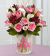 Fabled Beauty Bouquet - Oh La La VASE INCLUDED