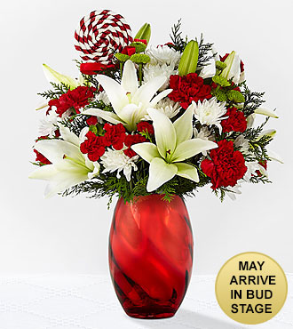 Open Your Heart Holiday Bouquet - VASE INCLUDED