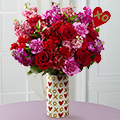 Heart of Hearts Valentines Day Bouquet - No Vase