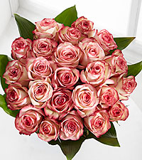 Elite™ Surprises Rose Bouquet - 24 Stems of 18-inch Roses - No Vase