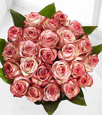 Elite™ Surprises Rose Bouquet - 24 Stems of 18-inch Roses - No Vase