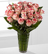 Elite™ Surprises Rose Bouquet - 24 Stems of 18-inch Roses - VASE INCLUDED