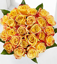 Elite™ Optimism Rose Bouquet - 24 Stems of 18-inch Roses - No Vase