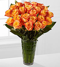 Elite™  Adventure Rose Bouquet - 24 Stems of 18-inch Roses - VASE INCLUDED