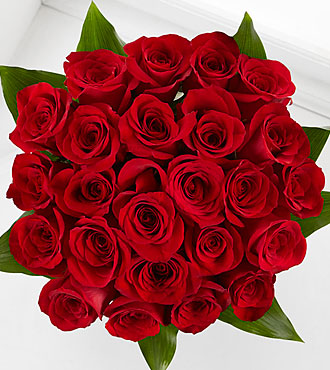 Elite™ Emotion Rose Bouquet - 24 Stems of 18-inch Roses - No vase