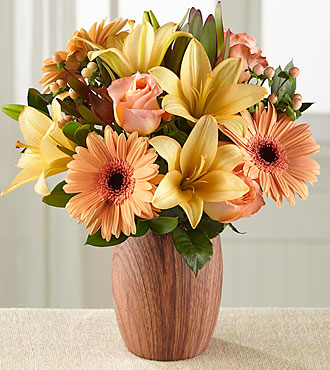 Autumn Awakenings Bouquet - VASE INCLUDED