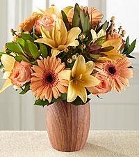 Autumn Awakenings Bouquet - VASE INCLUDED