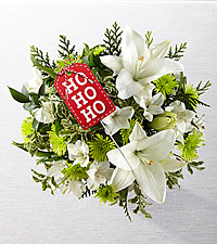 Wrapped Up in Joy Holiday Bouquet - NO VASE & PRESENT PICK INCLUDED