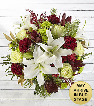 Winter Brights Holiday Bouquet - No Vase