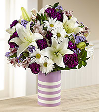 Lovely in Lavender Mother's Day Bouquet  - VASE INCLUDED