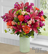 The FTD® Scene Stealer Bouquet by Better Homes and Gardens® - VASE INCLUDED