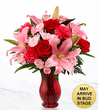 Heart's Emotions Valentine's Day Bouquet