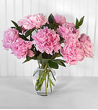 In Full Bloom Peony Bouquet