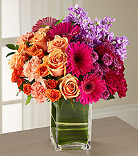The Runway Ready Passion for Fashion Bouquet - VASE INCLUDED