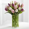 Painted Skies Tulip Bouquet - VASE INCLUDED