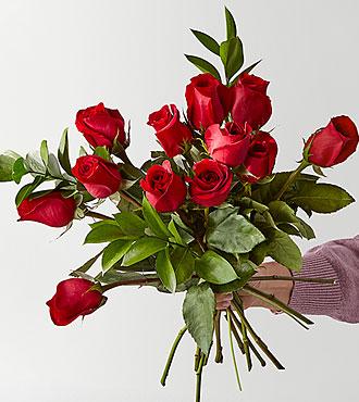 Red 1 Dozen Long Stem Roses