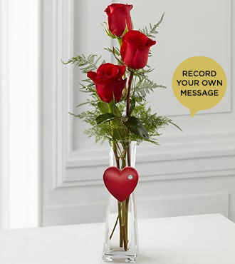 The FTD® Cheerful Greetings Say It Your Way® Holiday Bouquet