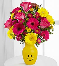 Let Me See You Smile Mixed Flower Bouquet