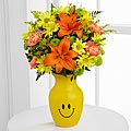 Keep Smiling Mixed Flower Bouquet