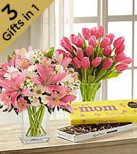 Blooming Best Ultimate Gift for Mom - VASE INCLUDED