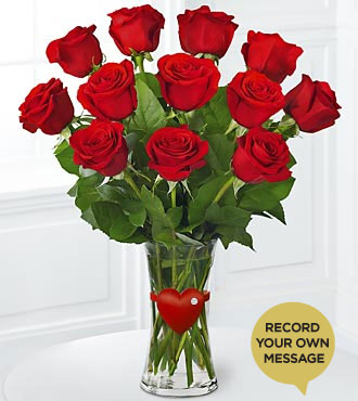 The FTD® Red Rose 'Say It Your Way'™ Bouquet