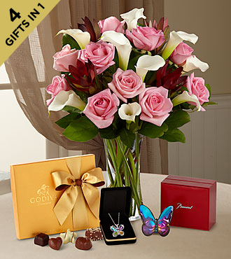 Butterfly Beauty Ultimate Gift - VASE INCLUDED